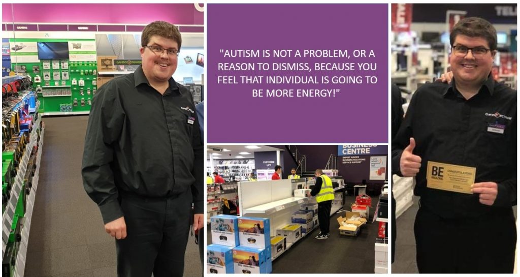 Autism is not a problem at work
